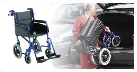 Alu Lite Manual Wheelchair