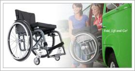 Kuschall Ultra Light Wheelchair